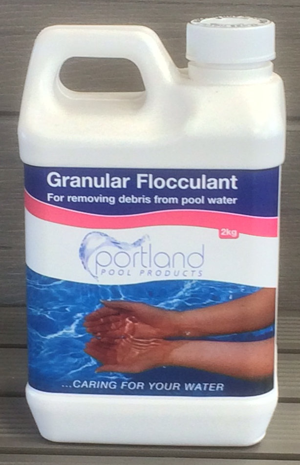 Portland Granular Flocculant Splash Pool Supplies