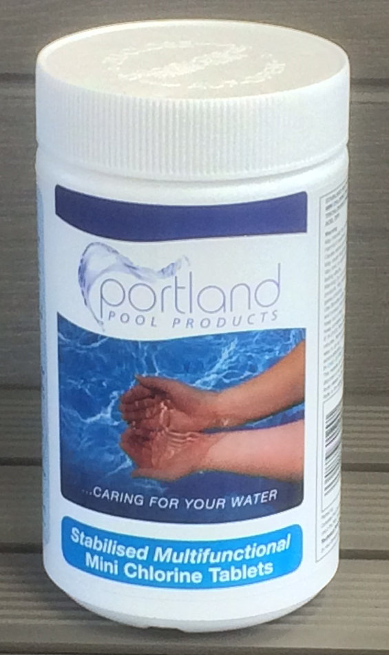 Portland Mini Chlorine Tablets Splash Pool Supplies
