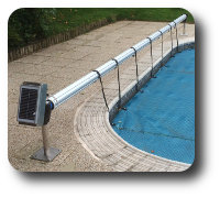 Portland-Solar-Powered-Pool-Roller-Installed